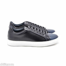 DIOR HOMME 895$ Blue Degrade Calfskin Low Top Sneakers