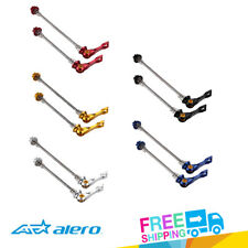 Alero QR-101 AL7075 Titanium Axle Mountain / Road Bike Quick Release Skewer Set