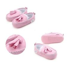 Hot Princess Baby Shoes New Boots Suede  Moccasins Newborn  Winter Pu Leather