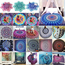 Hippie Indian Mandala Tapestry Wall Hanging Boho Throw Bedspread Beach Yoga Mats