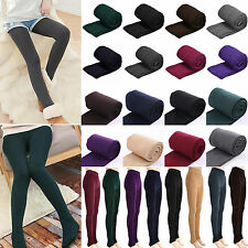 Sexy Women Warm Fleece Thick Thermal Stretch Skinny Knit Pants Pantyhose