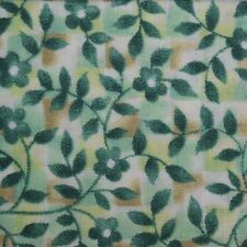 Quilt Fabric Cotton Calico Quilting Green Fairy Tale Floral by Classic Cottons