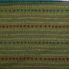 Quilting Fabric Cotton Calico Quilt FQ Green Dots & Stripes by JoAnn Fabrics