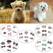 7Pcs Colorful Pet Grooming Accessories Cat Dog Hair Bows Hair Clips Beauty Pet