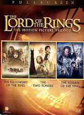 The Lord of the Rings: The Motion Picture Trilogy (DVD, 2004, 6-Disc Set, Pan  S