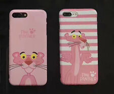 Pink PANTHER TPU phone Case Cute Shell case Cover For iPhone 6/6S 7 plus Ver.B