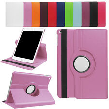 Premium Leather 360°Rotating Smart Stand Folio Case Cover For New iPad 9.7'' New