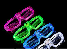 LED Shutter Glasses Light Up Shades Flashing Rave Wedding Party Supplies