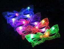 Butterfly Blinking LED Light Up Flashing Glasses Mask Ball Club Xmas Party Gifts