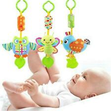 Baby Kids Wind Chime Soft Plush Stroller Hanging Stuffed Toys Rattles Mobile LIN