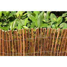 Willow Wooden Screening Roll Garden Screen Fencing Fence Panel Outdoor 4M Long