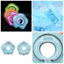 1PC 4Color Baby Child Bath Adjustable Safety Aids Float Inflatable Swimming Ring