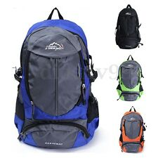 Large Men's Outdoor Backpack Rucksack Camping Bag Hiking Travel Luggage AU
