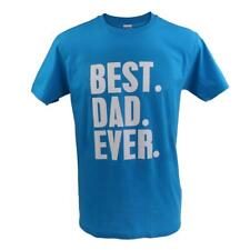 Fashion Fathers Day Birthday Dad Gift Cotton T Shirt BEST DAD EVER