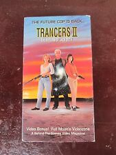 Trancers II vintage 90's action/sci-fi vhs movie for sale by owner!!!
