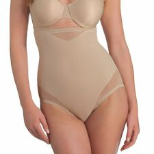 Miraclesuit Shapewear Sexy Sheer Hi Waist Brief Nude 2785 S-2XL Controlwear