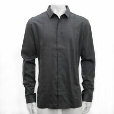 New Mens Raf Simons Bamboo Blend Button Up Shirt From 2001 RRP £210 BNWT Vintage