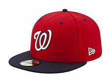 New Era Mens 2017 MLB Game Authentic On Field 59Fifty Cap Washington Nationals,