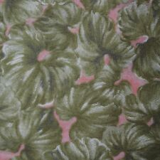 Quilt Fabric Cotton Green Violets & Lace by JoAnn Fabrics: FQ or Cut-to-Order
