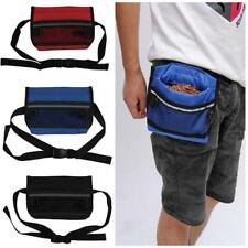 Pet Dog Puppy Treat Pouch Snack Mesh Bag with Belt Clip, Strap, Training Clicker