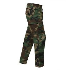 Woodland Camo Cargo Pants BDU Military Army USMC Navy Marine Airsoft Paintball