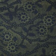 Quilt Fabric Cotton Calico Green Tonal Floral by Fabric Traditions: FQ 17x22