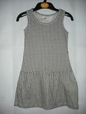 BNWOT H&M Taupe and Cream Spotty Summer Dress. Girls. Age 2-8 Years