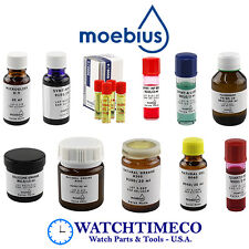 Moebius Oils / Lubricants / Greases for Watches & Clocks Repair
