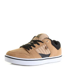 Mens Dc Course 2 Camel Light Tan Suede Leather Skate Trainers Shu Size