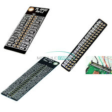 Reference Double Side Board GPIO Pin for Raspberry Pi 2 Model B / B+ Black