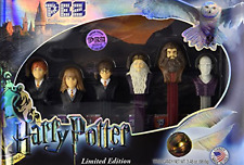 Candy Dispensers Set of 6 Harry Potter Limited Edition Collectors Series Gift