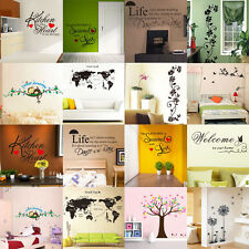 Choose Your Heart Removable Sticker Art Wall Decal Paper Decal Wall Decor DIY