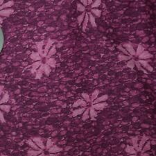 Quilt Fabric Quilting Cotton Calico Purple & Pink Floral by Marcus: FQ or 1/4 YD