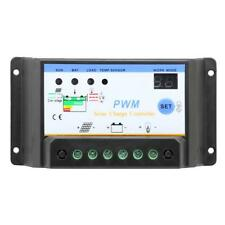 10A/20A/30A PWM Solar Panel Battery Regulator Charge Controller 12V 24V Settable