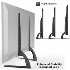 Universal Table Top TV Stand Legs for Sharp LC-32D43U, Height Adjustable