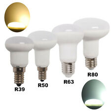 8x R39 R50 R63 R80 LED Reflector Globe Lamp Spot Light Bulb 5W 10W White E27 E14