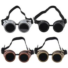 New Cyber Goggles Steampunk Glasses Vintage Welding Punk Gothic Victorian CE