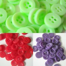 11.5 mm Resin Buttons, Four Hole Resin Buttons, Sewing, Crafts, 25 Buttons