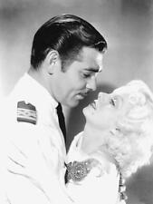 BEAUTIFUL JEAN HARLOW WITH CO STAR CLARK GABLE  1930'S 8X10 PHOTO 386