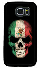 MEXICO SKULL FLAG PHONE CASE COVER FOR SAMSUNG NOTE GALAXY S3 S4 S5 S6 S7 S8 S9