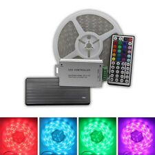 RF Remote 50ft 100ft 150ft 200ft RGB 5050 LED Strip Light Flexible w/ 12V Power