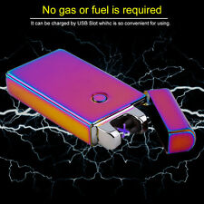 Double Arc Windproof Cigarette USB Electric Rechargeable Flameless Lighter CH