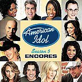 American Idol Season 5: Encores by American Idol Finalists (CD, May-2006, RCA)