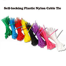 100pcs/bag Colorful 3*150MM Self-Locking Nylon Wire Cable Zip Ties Cable Ties