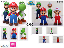 "High Quality Super Mario Action Figure PVC Playset Toy 5"" 3PCS/4PCS Multi Color"
