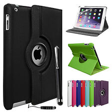 New 360° Leather Rotating Smart Stand Cover Case For APPLE iPad 2 3 4,Mini Air 2