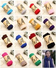 Fashion Womens Cashmere Scarf Winter Cotton Blend Long Scarf Shawl 19 Colors
