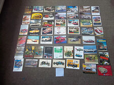 Lot of 50 postcards-mainly British Classic Cars (lot 2-3159)