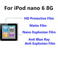 3pcs For iPod nano 6 8G  Matte/Nano Explosion/Nano Explosion  Screen Protector