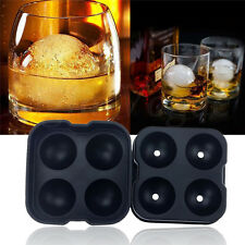 Whiskey Silicon Ice Cube Ball Maker Mold Sphere Mould Party Tray Round Bar JS